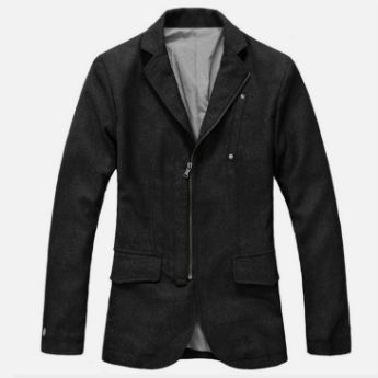 Picture of Black Blazer for Men