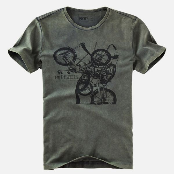 Picture of No Regrets Nop T-shirt