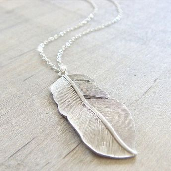 Picture of Designer Feather Necklace