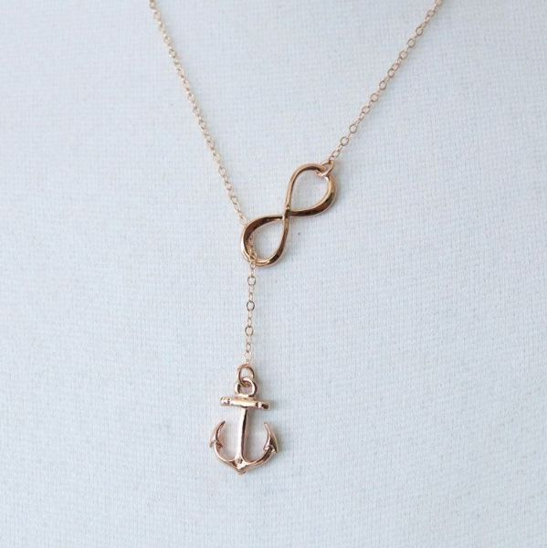 Picture of Golden Anchor Necklace
